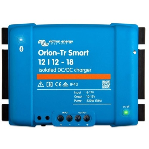Victron acculader Orion-Tr Smart 12/12-18A (220W) geIsoleerd