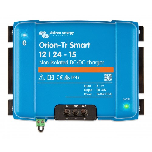 Victron acculader Orion-Tr  Smart 12/24-15A Non-isolated