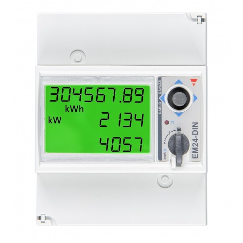 Energy meter EM24-3 phase-max 65A/phase