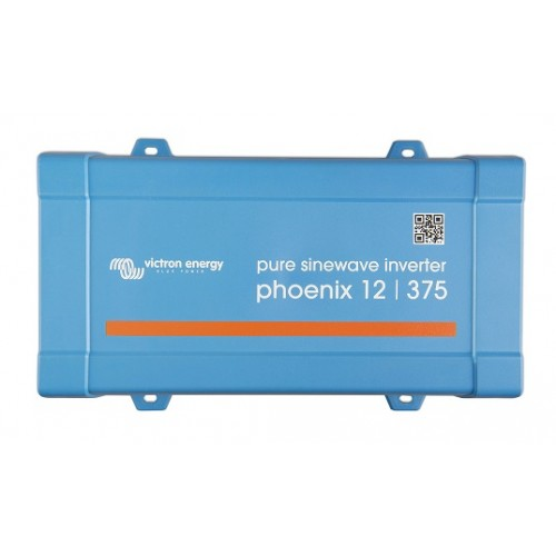 Victron Omvormer Phoenix 12/375 VE. Direct IEC outlet