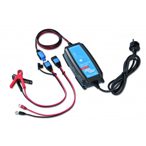 Victron Blue Power Acculader 12/15 IP65 + DC connector